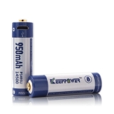 Keeppower P1495U Micro USB 14500 3.6V 950mAh