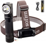 Sofirn SP40 1200 Lumen Head Flashlight with 18650 battery (included)