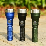 Stainless Steel Bezel Tactical Head Ring For Astrolux® FT03 MINI Flashlight (LIMITED AMOUNT!)