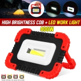 XANES® 25C 40W LED COB USB Rechargeable Strong Floodlight Emergency Power Bank Waterproof Work Light