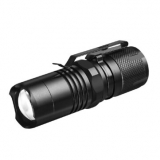 XANES® T6 800lm Mini Campact LED Flashlight Stepless Zoom Lightweight LED Keychain Light Tail Magnet Work Light Built-in Battery